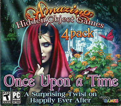 THE BEANSTALK + THE FORSAKEN BRIDE Hidden Object 4 PACK + BONUS! PC Game DVD NEW