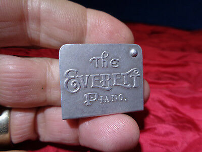 Antique Embossed Etched Aluminum Advertising Tin **stamp Holder** #1
