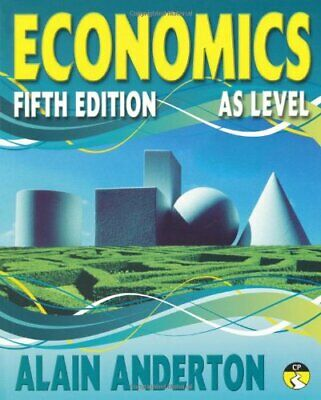 AS Level Economics Student Book: AS level Fif... by Anderton, Mr Alain Paperback