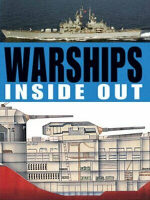Warships Inside Out by Robert Jackson Hardback Book The Cheap Fast Free Post