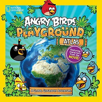 Angry Birds Playground: Atlas: A Global Geography Adv... by National Geographic