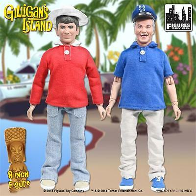 Gilliagan's Island- Gilligan & Skipper 8 inch action figure new in polybag loose