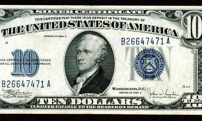$10 1934C Silver Certificates ** MORE CURRENCY FOR AUCTION ALL MONTH **