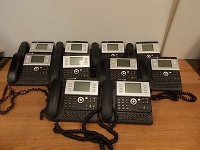 One Lot Of 10 ALCATEL LUCENT 4039 Digital Phones WORKING FREE SHIPPING