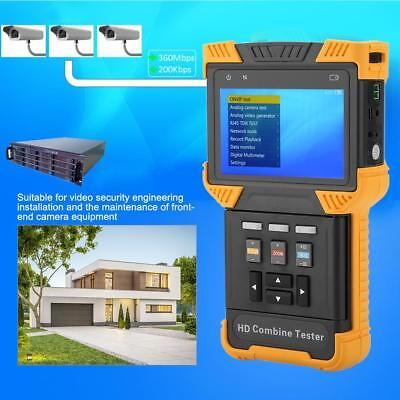"""4"""" DT-T60 CCTV Analog Tester 1080P Monitor IP Camera Tester HD Combine Tester"""