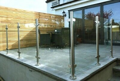 Toughened Glass Panels Cut to Size 6mm, 8mm, 10mm, 12mm or 15mm Polished Edges