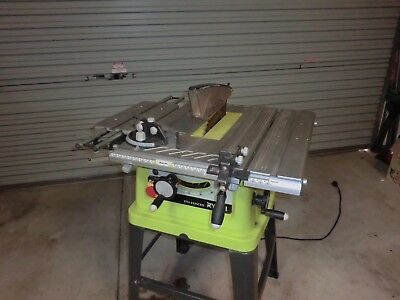 Ryobi Table Saw * Bench Saw 254 x 2 mm blade Cut to 80mm thickness.