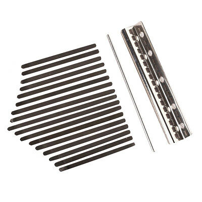 Kalimba African Mbira Thumb Piano Replacement Keys Musical Instruments Parts Hot