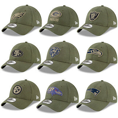 New Era NFL 2018 Salute to Service Sideline Men's Khaki 9TWENTY Cap