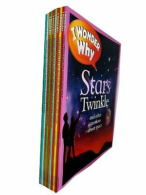 Castles had moats Stars twinkle Hurricanes have eyes 10 Books Collection Set NEW