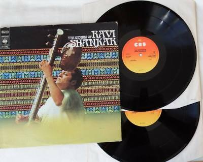 RAVI SHANKAR The Genius Of Ravi Shankar 2LP Vinyl 1972 FOC * TOP