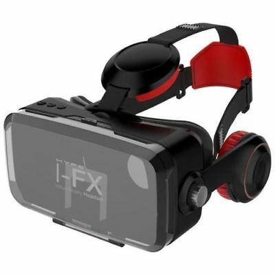Virtual Reality VR Headset With Wireless Headphone HYPE I-FX Bluetooth