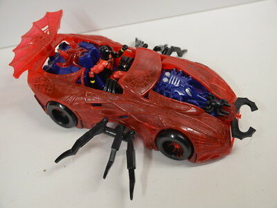 Spiderman Toy Biz 42cm Spider Force Web Car Spinnenkraft Marvel Spiderman Figur