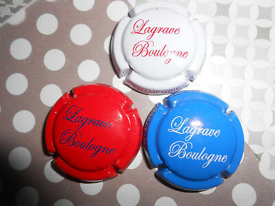 capsules champage lagrave boulogne nos 14/14a/14b