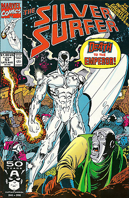 Silver Surfer Vol 3 #53 in 10 GEM MT Condition - Marvel Comics Aug 1991