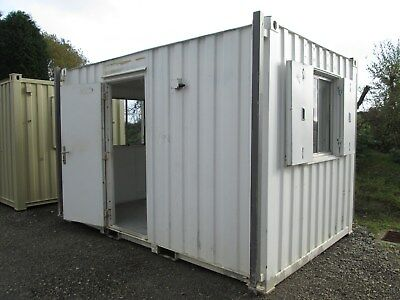 12ft Site Office, Site Cabin, Portable Building, Shipping Container