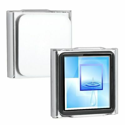 Crystal Clear Hard Case Cover for iPod Nano 6th Gen 6G