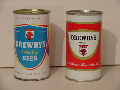 Drewrys Beer Bank Top Cans From South Bend In And Chicago Il 2 For 1