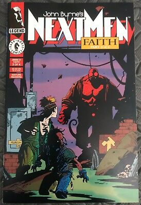 Next Men 21. First appearance Hellboy. Mike Mignola. High Grade NM-