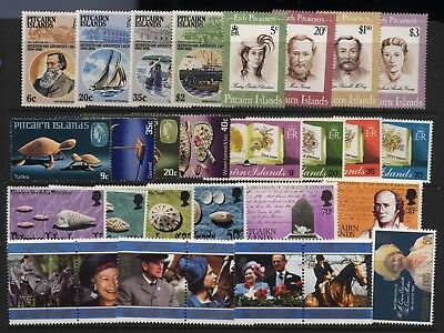 Pitcairn Islands Collection Commemorative Sets Unmounted Mint