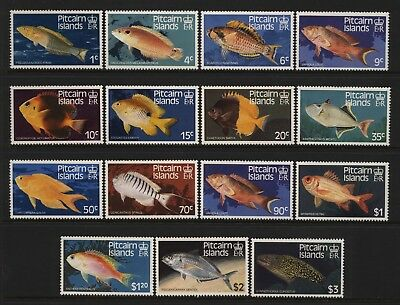 Pitcairn Islands 1984 Fishes Set Unmounted Mint