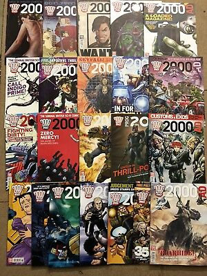 2000AD Collection Progs 1751-1828 (78 Issues). Complete Run