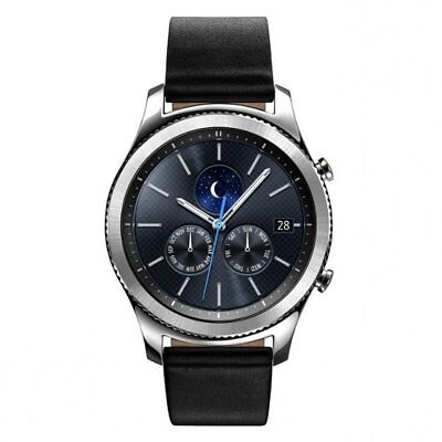 Samsung Gear S3 Classic Smart Watch Leather/Sport Strap Large/Small