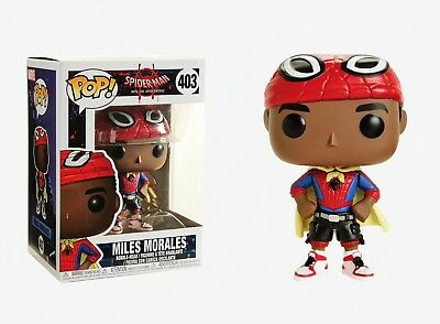 Funko Pop Spider-Man into the Spiderverse: Miles Morales Vinyl Bobble-Head 33976