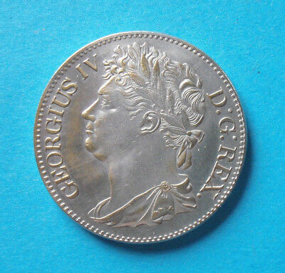 1/2 Crown George IV. Schottland 1822  Medaille mit 33 mm+20 g