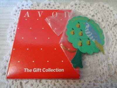 """Avon """"the Twelve Days Of Christmas"""" Ornament Collection/partridge In A Pear Tree"""