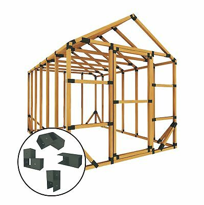 E-Z Frames 8 ft. W x 12 ft. D Greenhouse