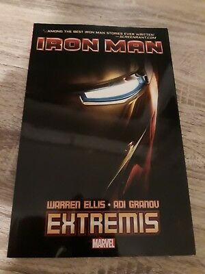 Marvel Comics: Iron Man: Extremis Trade Paperback in Very Good Condition