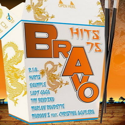 DCD Sampler Bravo Hits 75 ( Christina Stürmer, Tim Bendzko, Hurts) Sony 2011