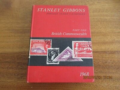 Stanley Gibbons Postage Stamp Catalogue British Commonwealth Part One 1968