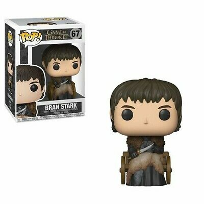 FUNKO POP! TELEVISION: Game of Thrones S9 - Bran Stark [New Toy] Vinyl Figure