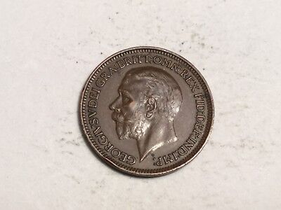GREAT BRITAIN 1932 farthing coin excellent condition