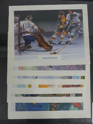 1970's Prudential Sports Posters Lot Of 11
