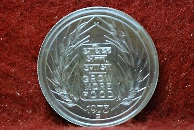 India, 1973 50 Paisa, Y98, Proof,  hairlines, toning,                      mab92