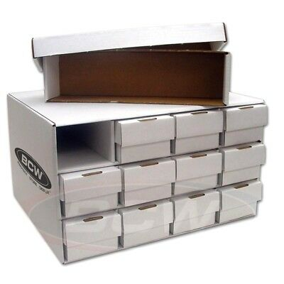 BCW 800 Card House Box with 12 Ct 802 Card Storage Boxes