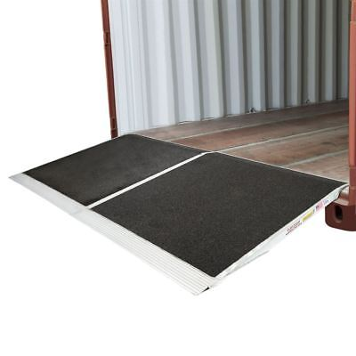 Forklift 48x90 Shipping Container Ramps for Loading Docks 05-45-048-06-Grit-2