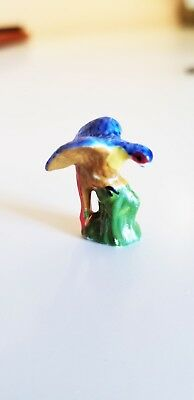 Dollhouse~ Small Painted Porcelain L Figurine Of Bird