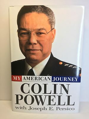 COLIN POWELL - Signed Book:  My American Journey - 19950-679