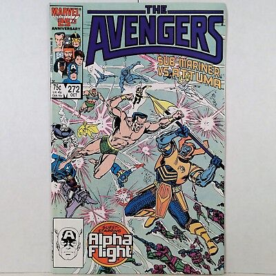 The Avengers - Vol. 1, No. 272 - Marvel Comics Group - Oct. 1986 - No Reserve!
