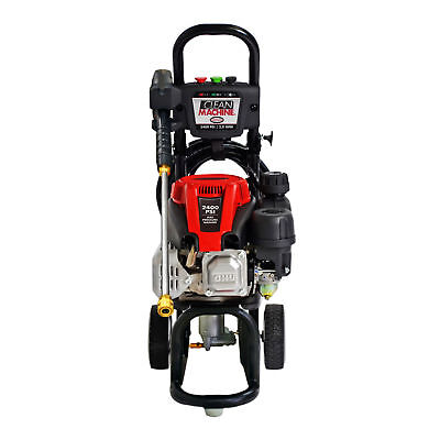 Simpson Clean Machine Steel Gas Powered Engine Pressure Washer with Wand, Black