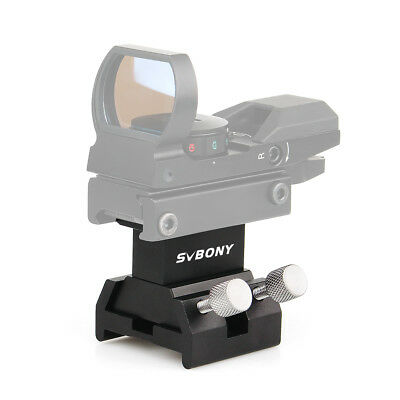 SVBONY All-Metal Dovetail Finder Mounting Bracket +Dovetail Slots for telescope