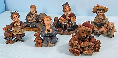 "Dollstone Collection ""yesterday's Child"" Boyds Bears Figurines"