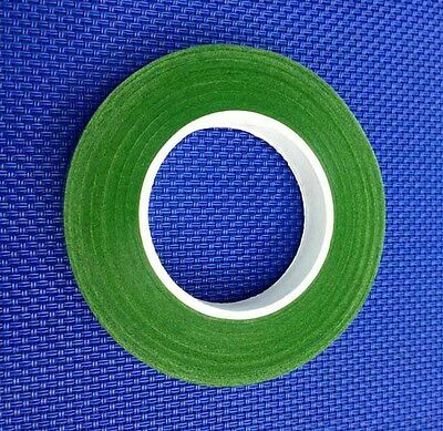1 Roll Green Florist Stem Stretchy Wraps Florals Tape 12mm Wide Tape 25Yards AU