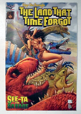 Edgar Rice Burroughs The Land That Time Forgot See-Ta the Savage #1 2018 NM