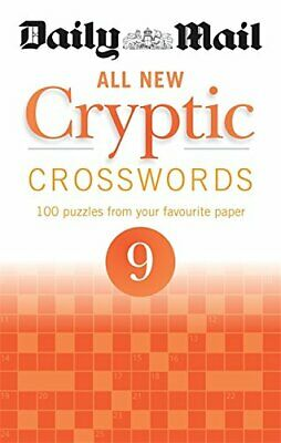 Daily Mail All New Cryptic Crosswords 9 (The Daily Mail Puzzle ... by Daily Mail