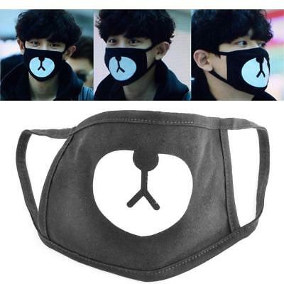 Fashion Ayo and Teo Face Mask panda bape  mask bear mouth Anti-Dust  Mask KS